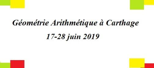 Géométrie Arithmétique à Carthage